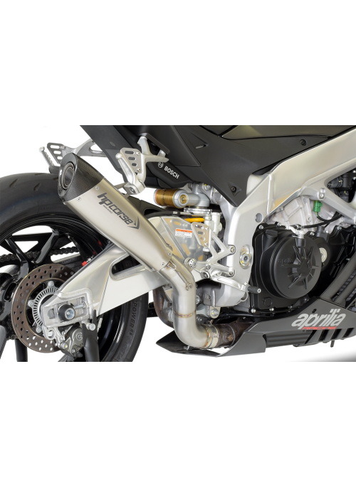 HP Corse Slip-On Exhaust RSV4 2015-2016 EvoXtreme 310mm Satin