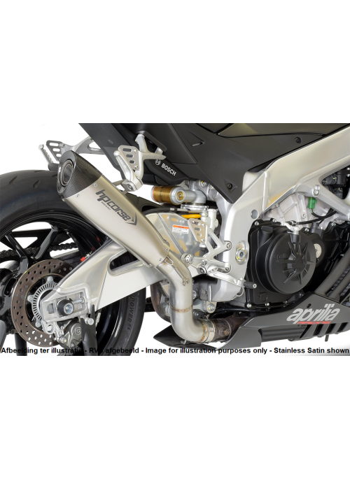 HP Corse Slip-On Exhaust RSV4 2015-2016 EvoXtreme 310mm Titanium