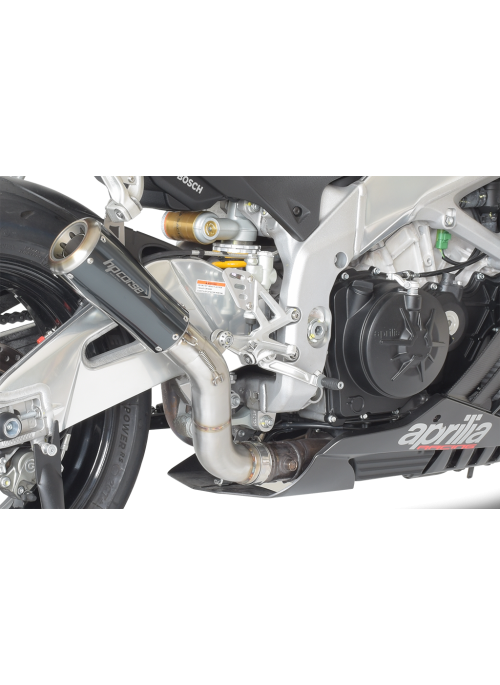 HP Corse Slip-On Exhaust RSV4 2015-2016 GP07 Black