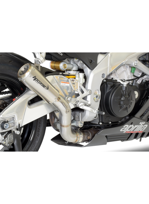 HP Corse Slip-On Exhaust RSV4 2015-2016 GP07 Satin