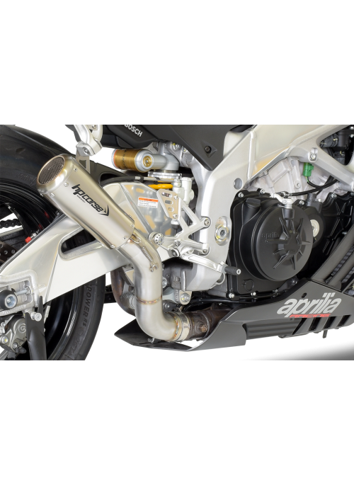 HP Corse Slip-On uitlaat Aprilia RSV4 2015-2016 GP07 Satin