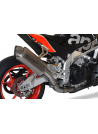HP Corse Slip-On uitlaat Aprilia Tuono V4 1100 2017-UP 4-Track Short Titanium