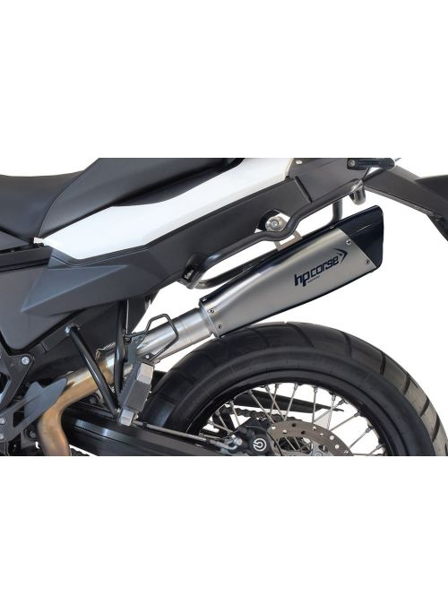 HP Corse Slip-On Exhaust F 800 GS 2008-2017 EvoXtreme 310mm Satin