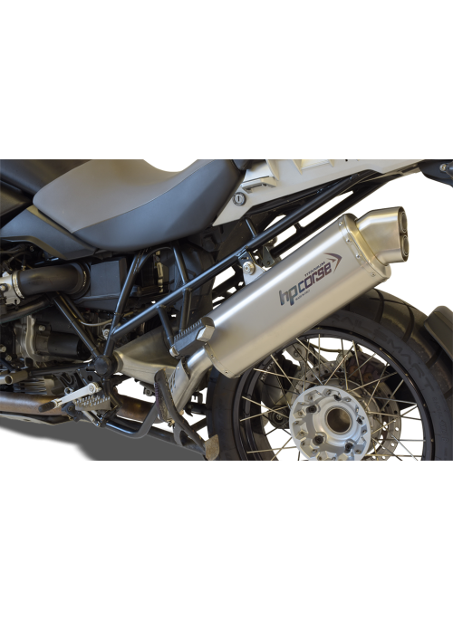 HP Corse Slip-On Exhaust R 1200 GS 2004-2009 4-Track Titanium