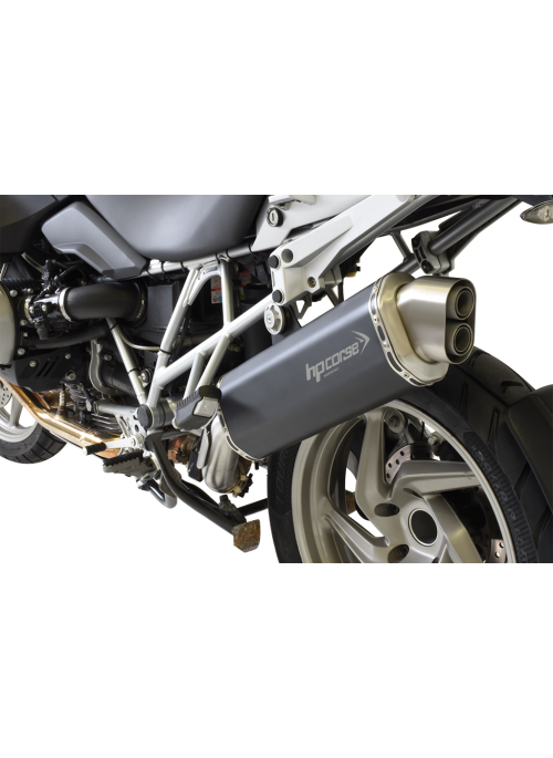 HP Corse Slip-On uitlaat BMW R 1200 GS 2010-2012 4-Track Black