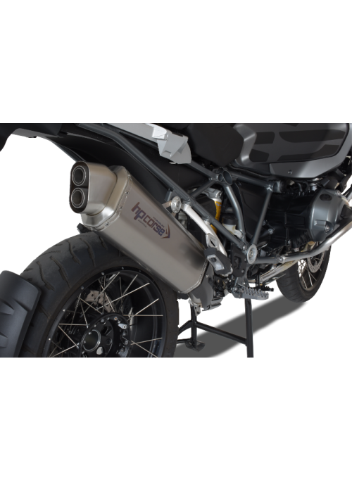 HP Corse Slip-On Exhaust R 1200 GS/Adventure 2013 UP 4-Track Titanium