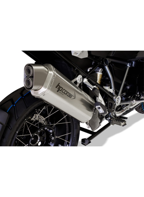 HP Corse Slip-On Exhaust R 1250 GS/Adventure 4-Track Satin