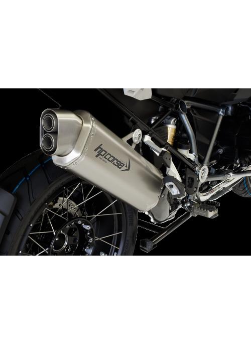 HP Corse Slip-On uitlaat BMW R 1250 GS/Adventure 4-Track Titanium