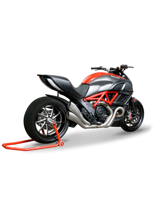 HP Corse Slip-On Exhaust Diavel 2011-2016 Hydroform Satin