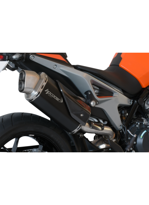 HP Corse Slip-On uitlaat KTM Duke 790 4-Track Short Black