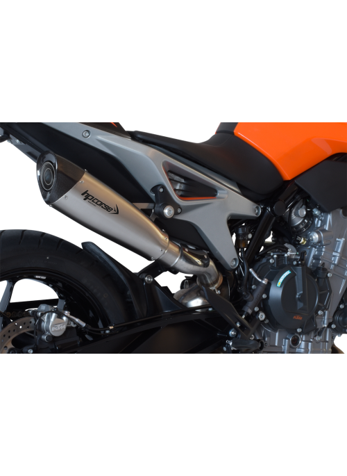 HP Corse Slip-On uitlaat KTM Duke 790 EvoXtreme 310mm Satin