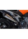 HP Corse Slip-On uitlaat KTM Duke 790 EvoXtreme 310mm Titanium