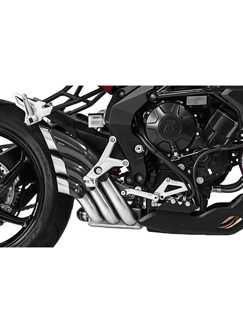 HP Corse Slip-On Exhaust Brutale 675/800/RR up to 2016 HydroTre Satin