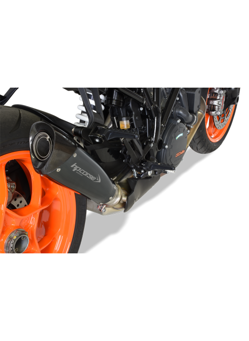 HP Corse Slip-On uitlaat KTM SuperDuke 1290 R 2017+ EvoXtreme Black