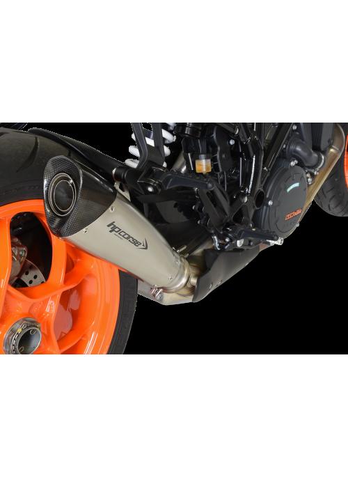 HP Corse Slip-On uitlaat KTM SuperDuke 1290 R 2017+ EvoXtreme Satin