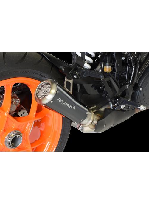 HP Corse Slip-On uitlaat KTM SuperDuke 1290 R 2017+ GP07 Black
