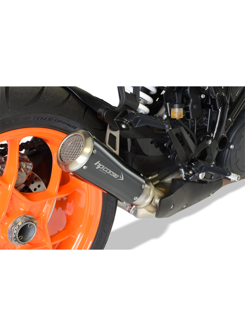 HP Corse Slip-On Exhaust SuperDuke 1290 R 2017+ GP07 Black