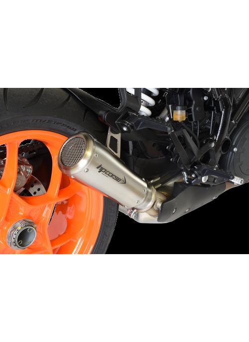 HP Corse Slip-On uitlaat KTM SuperDuke 1290 R 2017+ GP07 Satin