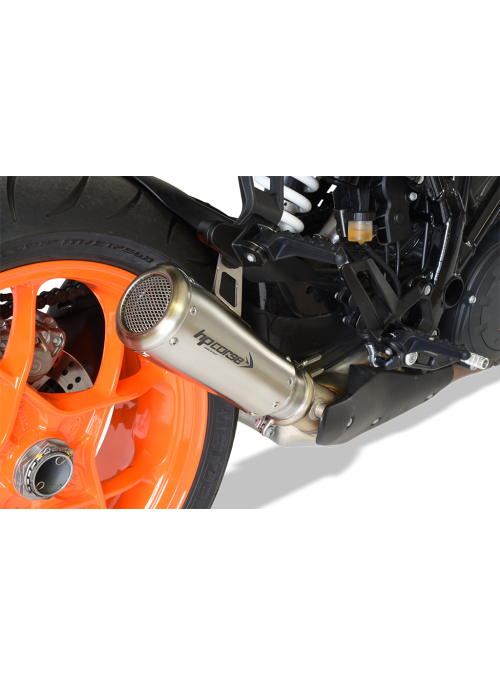HP Corse Slip-On Exhaust SuperDuke 1290 R 2017+ GP07 Satin