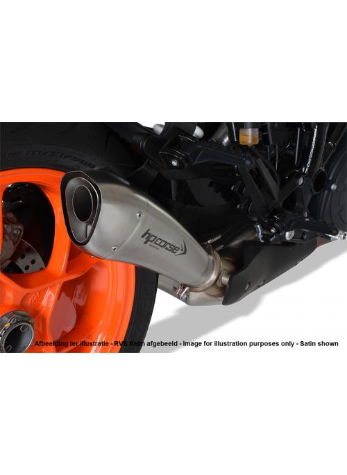 HP Corse Slip-On uitlaat KTM SuperDuke 1290 R 2017+ Hydroform Black