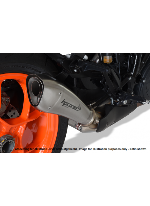 HP Corse Slip-On Exhaust SuperDuke 1290 R 2017+ Hydroform Black