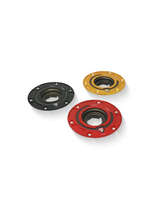 Fuel Tank Cap with Carbon Flange for Diavel Hypermotard 950 Multistrada