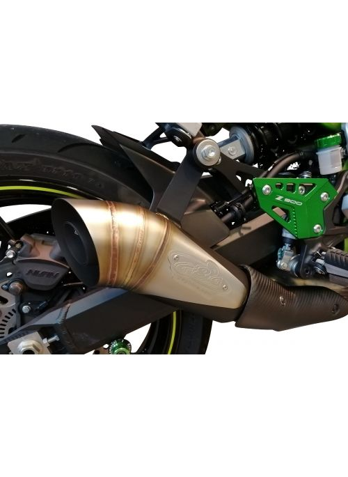 G&G GP slip-on exhaust Kawasaki Z900 2017+