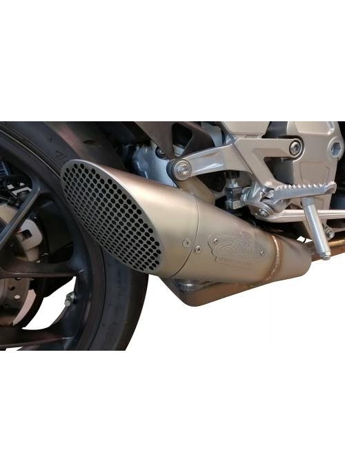G&G GP slip-on exhaust Shotblasted Honda CB1000R Neo Sports 2018+