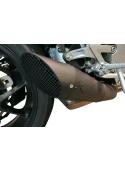 G&G GP slip-on exhaust Zwart Honda CB1000R Neo Sports 2018+