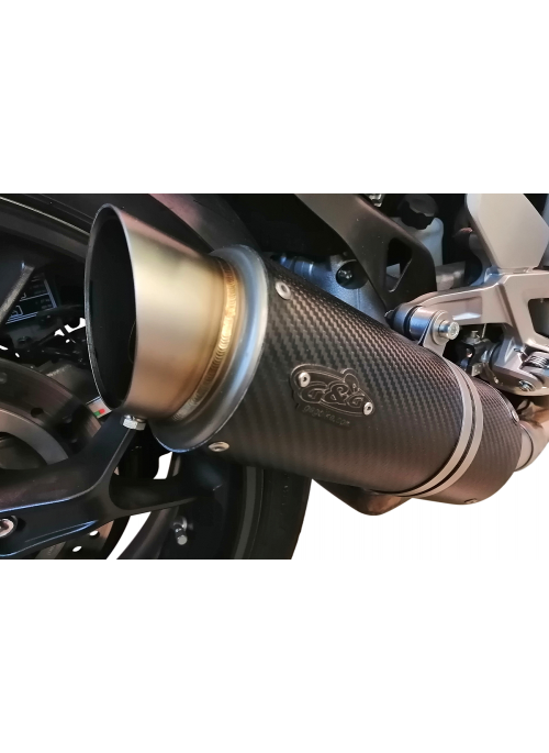 G&G Moto2 Carbon slip-on exhaust Honda CB1000R Neo Sports 2018+