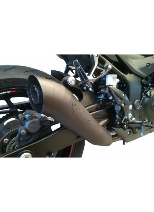 G&G GP slip-on exhaust Suzuki GSX-S750 2015+