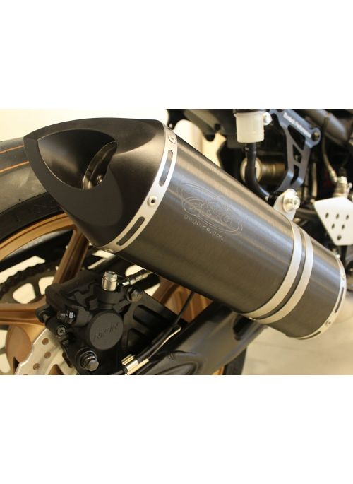 G&G Big Oval slip-on exhaust GSX-S750 2015+