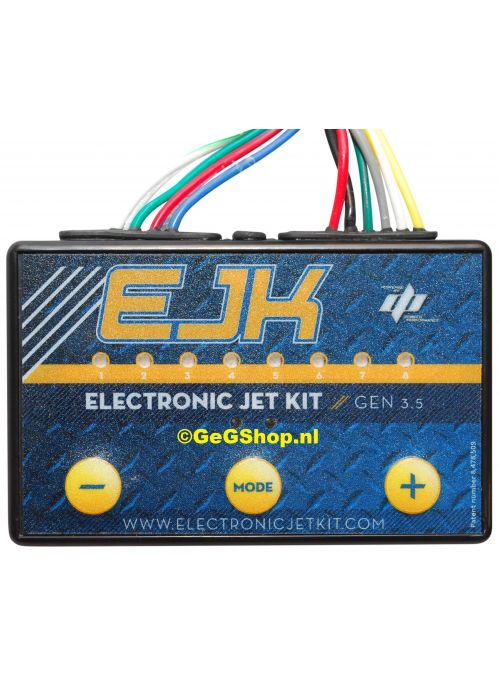 EJK Electronic Jet Kit Gen 3.5 tune module voor Harley Davidson Dyna 110 met Bypass 2016-2017