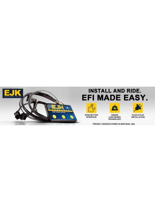 EJK Electronic Jet Kit Gen 3 tune module voor Harley Davidson Softail met Bypass 2016-2017