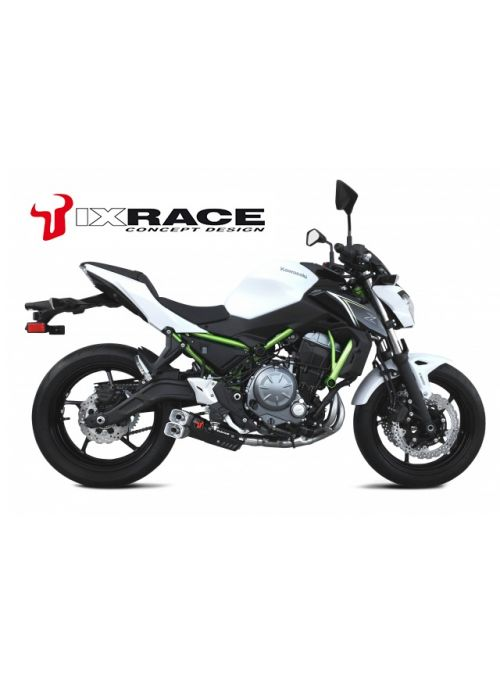 IXRace Z8 Full Exhaust System Kawasaki Z650 Ninja 650 2017+ Euro4