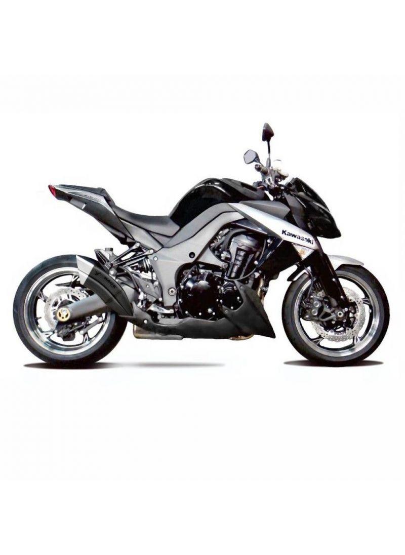 IXRace Z7 Black Exhaust Kit Kawasaki Z1000 Z1000SX 2010-2020