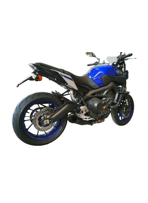 G&G GP Stealth exhaust Yamaha MT09 and Tracer