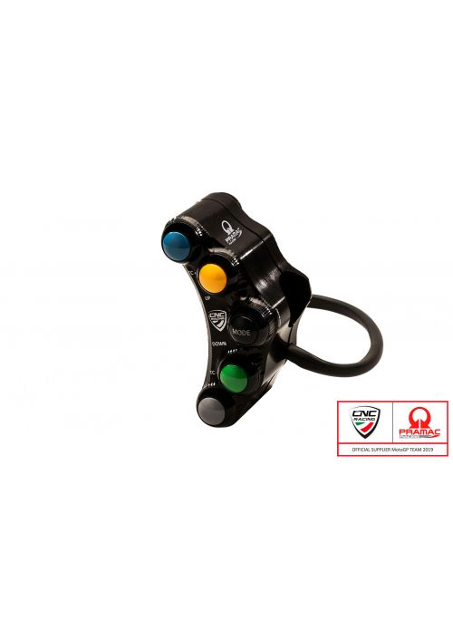 CNC Racing left handlebar switch Panigale V4 - racing - Pramac Limited Edition