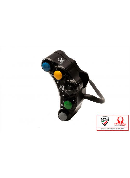 CNC Racing left handlebar switch Panigale V4 - street - Pramac Limited Edition