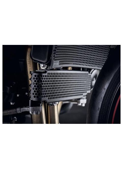Oil Cooler Cover Triumph Speed Triple RS 2018+ Evotech Performance