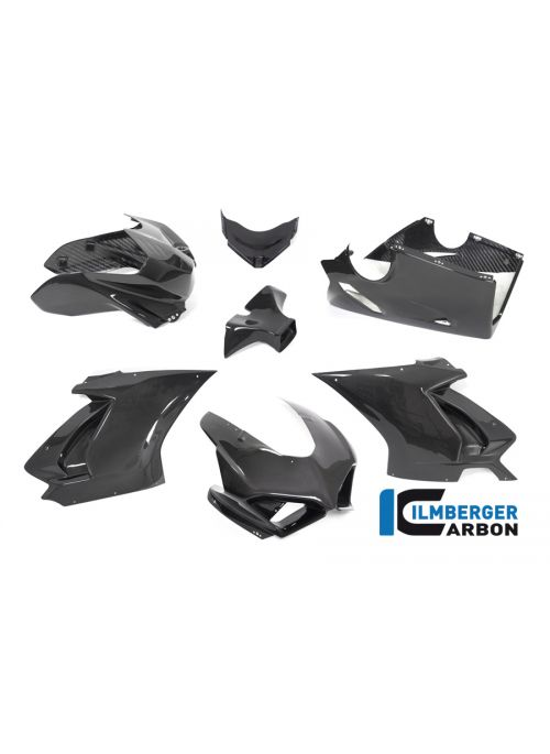 Fairing-kit Stocksport gloss carbon Panigale V4 Racing