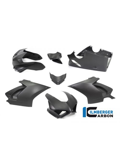 Fairing-kit Stocksport matt carbon Panigale V4 Racing