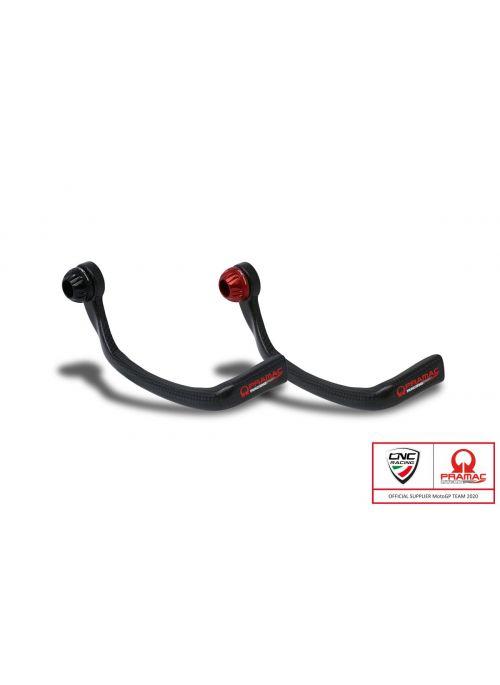 Carbon brake lever protector Pramac Racing Edition - CNC Racing