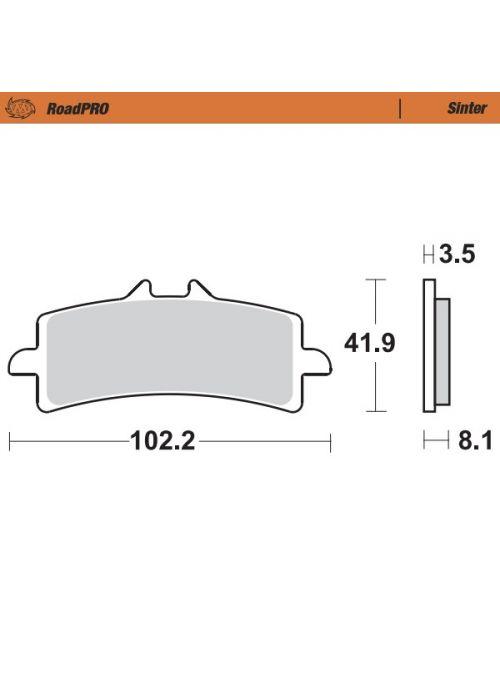 Sintered brake pads Moto-Master
