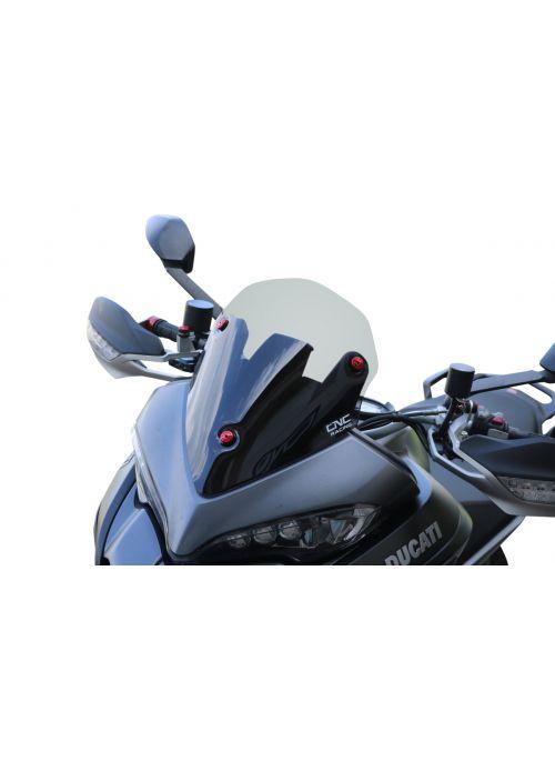 Sport Windshield Light Smoke Ducati Multistrada 950 1200DVT 1260