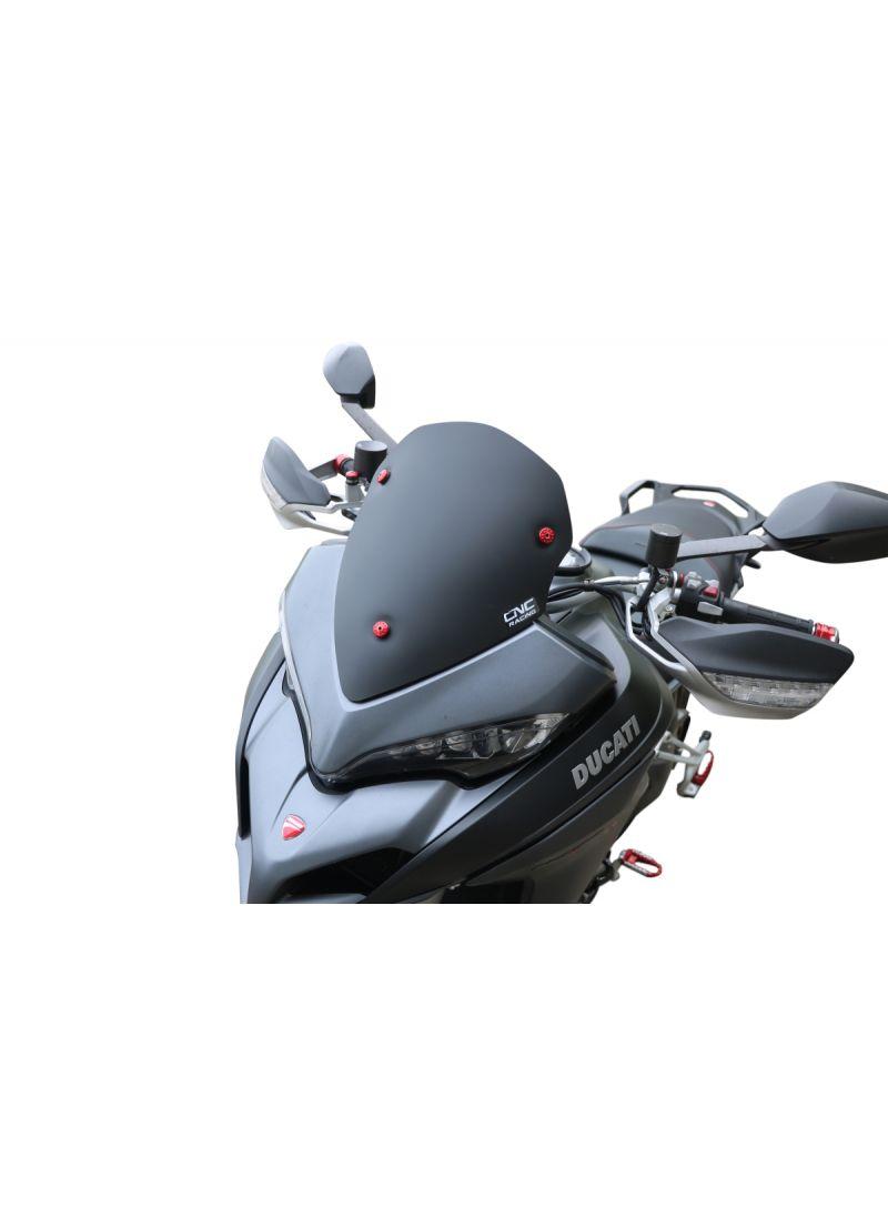 Sport Windshield Matt Black Ducati Multistrada 950 1200DVT 1260