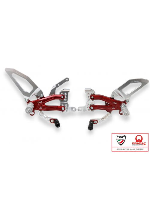 Adjustable rearsets Ducati Streetfighter V4 - Pramac Racing Limited Edition