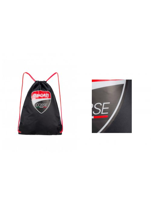 Gym Bag Big Logo - Ducati Corse (100% polyester)