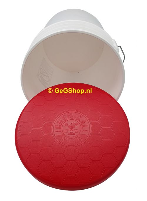 Chemical Guys - Embossed Bucket Lid Red