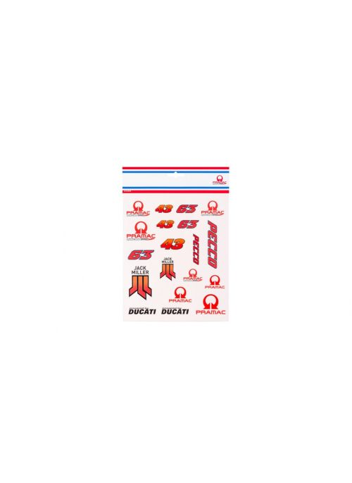 Pramac Racing Stickers Kit